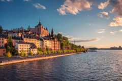 Stockholm. royalty free stock photo
