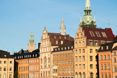 Stockholm Cityscape. Skyline and cityscape of Stockholm, capital of Sweden Stock Image