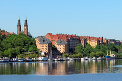 Stockholm coastline Royalty Free Stock Photography
