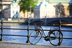 Stockholm cykel Arkivfoton