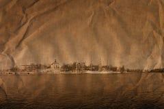 Stockholm dans le rétro type Images stock