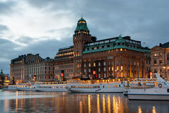 Stockholm at dawn Royalty Free Stock Image