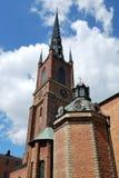 Stockholm, de Kerk van de Ridder stock fotografie