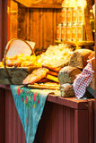STOCKHOLM - DEC, 19: Bread on display at Stortorget Christmas ma Stock Images