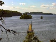Stockholm, die Hauptstadt von Schweden Lizenzfreie Stockfotos