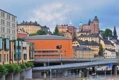 Stockholm. District de Sodermalm photos stock