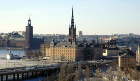 Stockholm on early spring Royalty Free Stock Photography