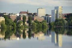 Stockholm embankment Stock Photo