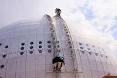 Stockholm Ericsson Globe royalty free stock photography