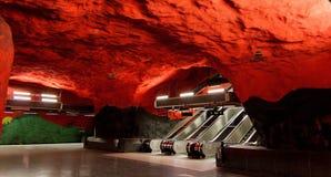 Stockholm escalators Royalty Free Stock Image