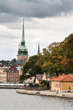 Stockholm in fall Royalty Free Stock Image