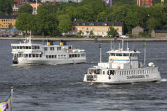 Stockholm ferries Stock Images
