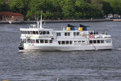 Stockholm ferry Royalty Free Stock Images