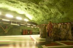 Stockholm gångtunnel Royaltyfria Foton