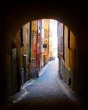 Stockholm Gamla Stan. Sweden, Stockholm, Gamla Stan; old town, city, historic Stock Image