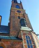 Stockholm gammal kyrka Arkivbild