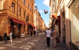 STOCKHOLM - GAMMAL STAD Royaltyfri Bild