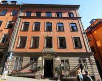 Stockholm gammal stad (Gamla Stan) Arkivfoton