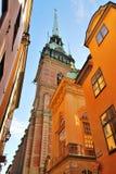 Stockholm,  the German Church Stock Photo