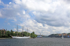 Stockholm harbor. Stock Photography