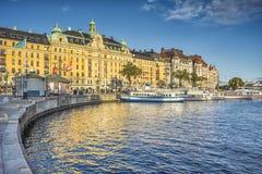 Stockholm harbor Stock Photography