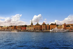 Stockholm Harbor, Sweden Stock Photo