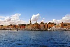 Stockholm Harbor, Sweden Stock Photo