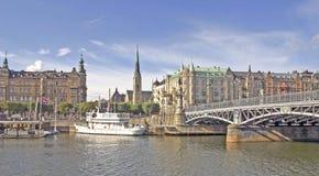 Free Stockholm Harbour Stock Photo - 10594060