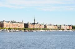 Stockholm harbour Stock Photography