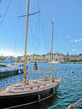 Stockholm harbour and Baltic Sea Stock Photography