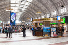 Stockholm-Hauptbahnhof Lizenzfreies Stockfoto