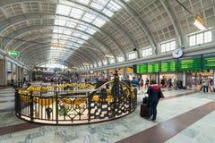 Stockholm-Hauptbahnhofshauptleitungshalle Stockbild