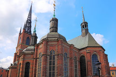 Stockholm historic church. Royalty Free Stock Photo