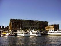Stockholm huvudstaden av Sverige, är spridning över en slutsumma av 14 öar Arkivfoton