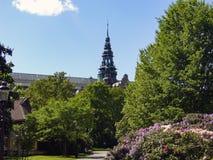 Stockholm huvudstaden av Sverige, är spridning över en slutsumma av 14 öar Royaltyfri Fotografi