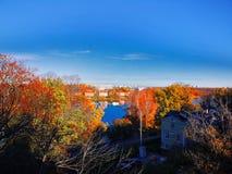Stockholm im Herbst lizenzfreie stockfotografie