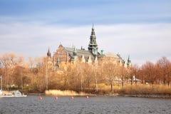 Stockholm, island Djurgarden Royalty Free Stock Images