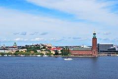 Stockholm. Island Kungsholmen Stock Image