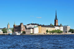 Stockholm,  island Riddarholmen Royalty Free Stock Photo