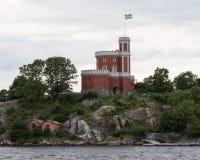 Stockholm Kastellholmen Royaltyfri Fotografi