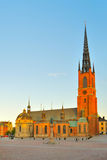 Stockholm. Knight's church Stock Images