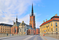 Stockholm. Knight's church Stock Photography