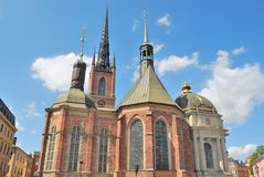 Stockholm, Knight`s Church Stock Images