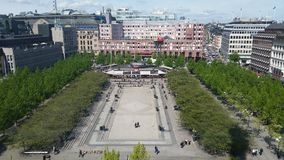 Stockholm kungsträdgården Lizenzfreie Stockfotografie
