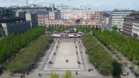 Stockholm kungsträdgården Royalty Free Stock Photography