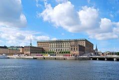 Stockholm, Kunliga Slottet stock afbeelding