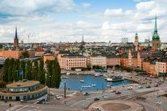Stockholm. La Suède Photos libres de droits