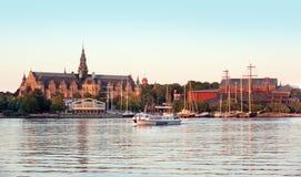 Stockholm - la Suède Images libres de droits