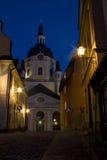 stockholm mała ulica Obrazy Royalty Free