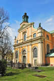 Stockholm. Mary Magdalene Church Royalty Free Stock Photos